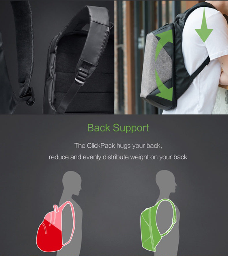 back support backpack