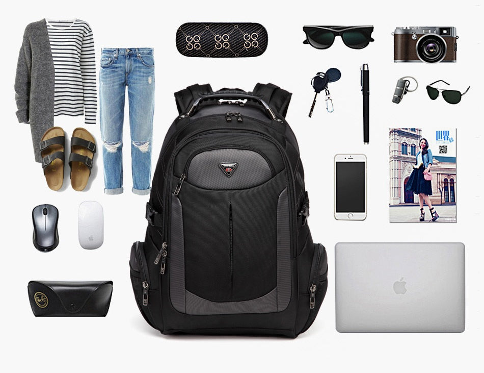 what can fit into large travel backpack