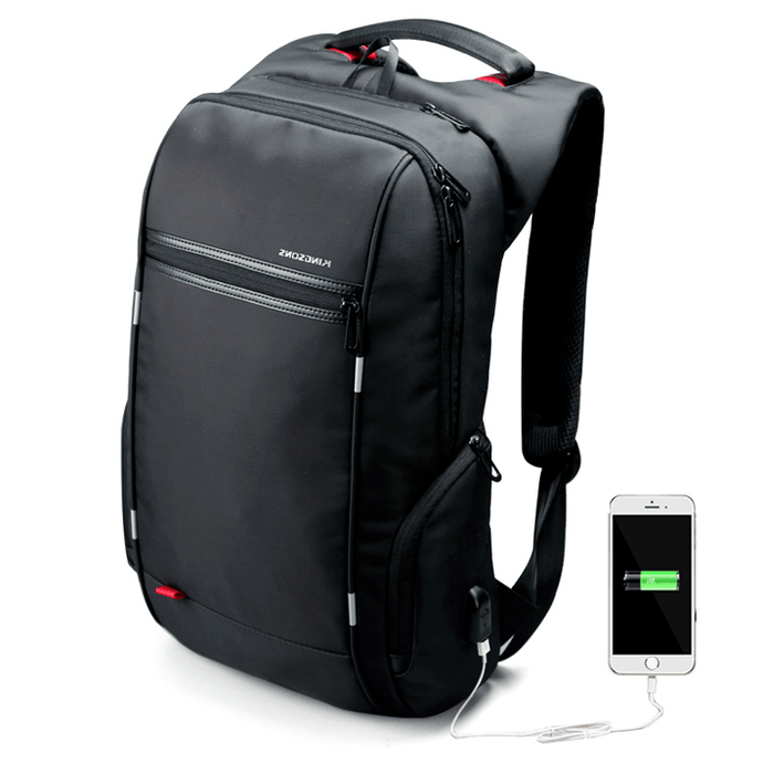 City Elite Waterproof Backpack for Working Professionals 15.6