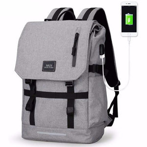 Classic Rucksack Backpack for 15.6 inch Laptop - Unisex | USB & Waterproof