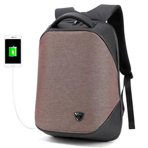 laptop backpack for travel connected to iphone via USB