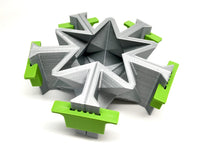 Star - Stellated Dodecahedron - Double Merkabah Planter Mold - 3D Printed PLA