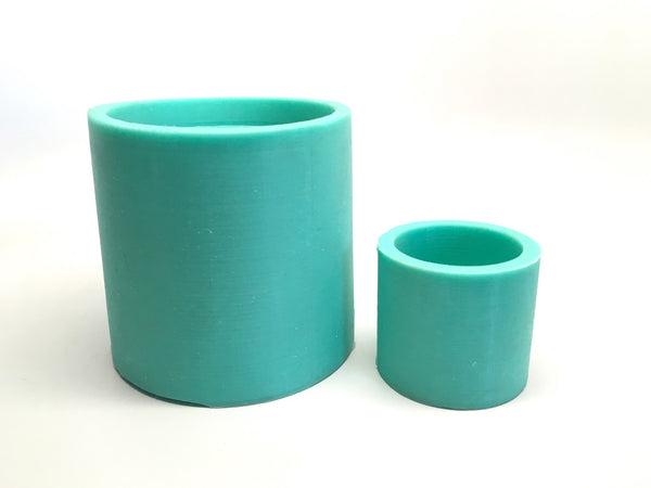 Cylinder Planter Mold - Silicone