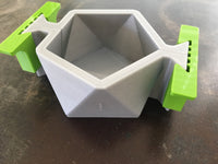 Icosahedron II Planter Mold - 3D Printed PLA - Sacred Geometry