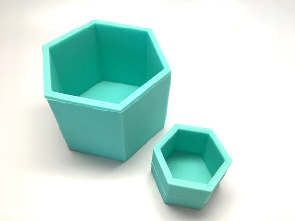 Hexagon Mold - No Center Plug - Silicone