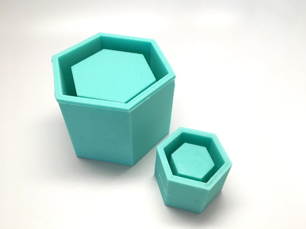 Hexagon Planter Mold - Silicone