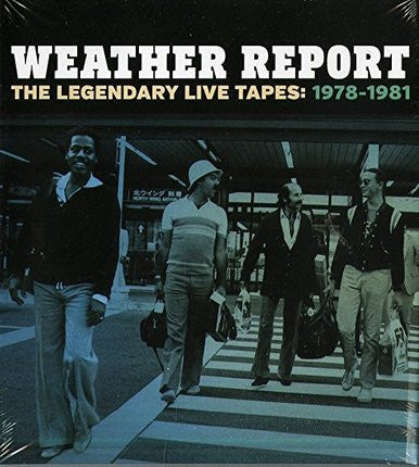 Weather Report Legendary Live Tapes UNSIGNED