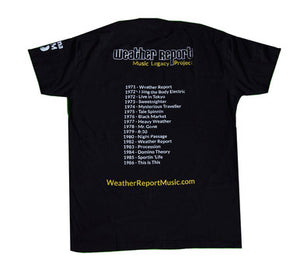Weather Report Legacy Project T-Shirt