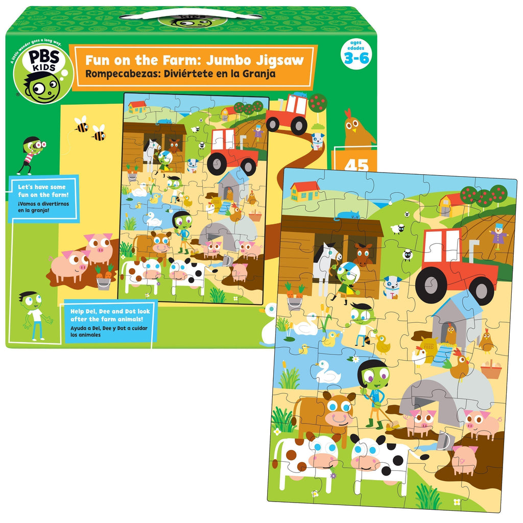 PBS Kids: Fun on the Farm Puzzle