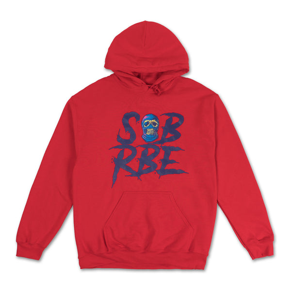 SALE Chicko Time Blue and orange Hoodie ZS0VW5RxB