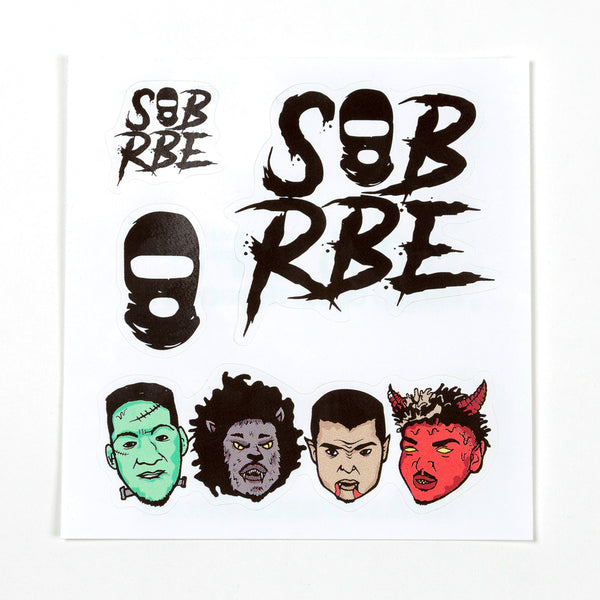 SOB X RBE STICKER SHEET