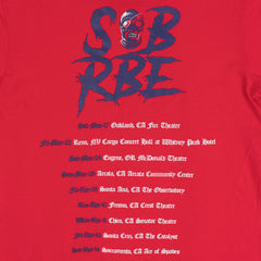 SOB X RBE TOUR TEE - RED