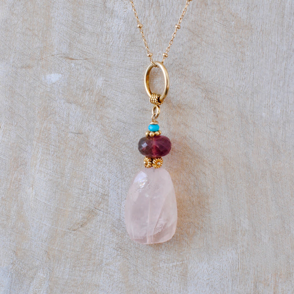 Rose Quartz Drop