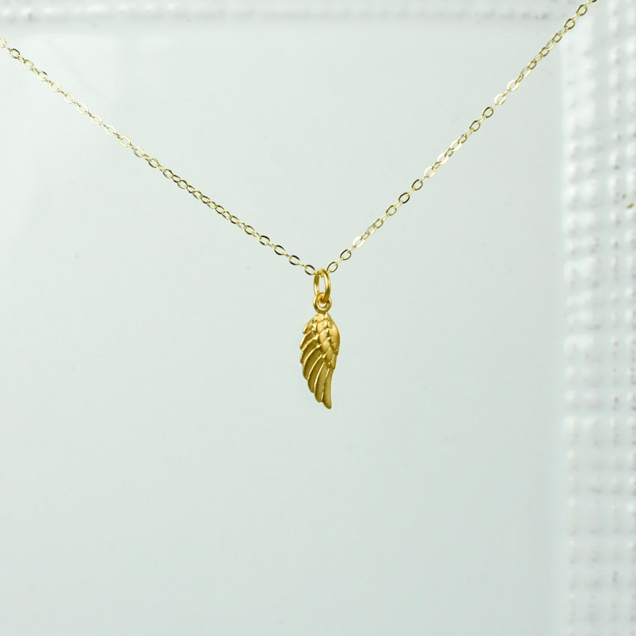 Gold Chain with Small Wing