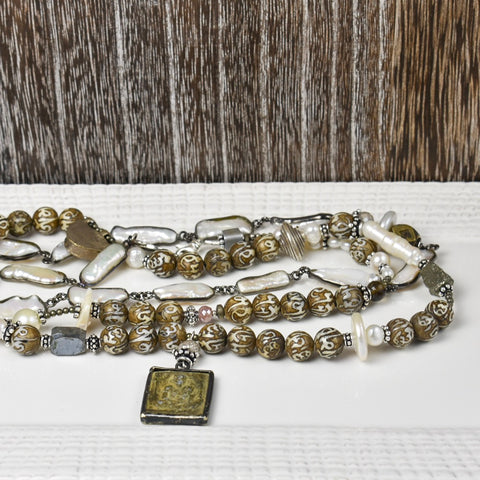 Prayer Beads and Pearls