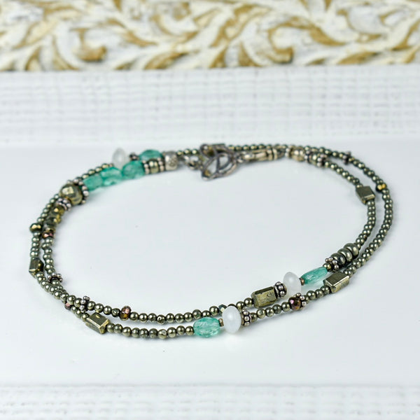 Apatite and Pyrite Choker
