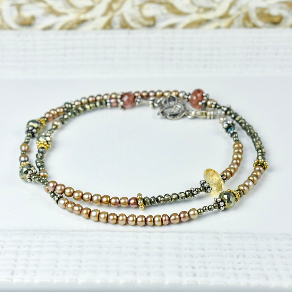 Blush Pearl Artisan Necklace