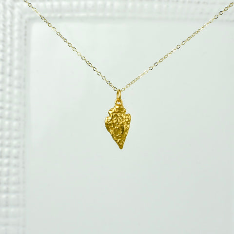 Gold Chain with Arrowhead