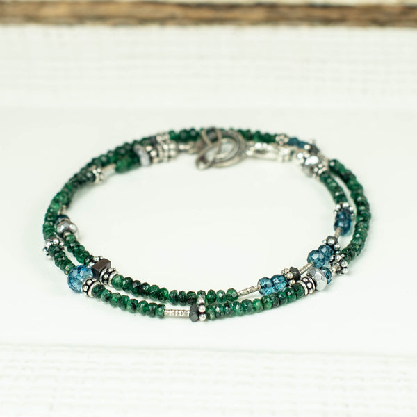 Emerald Mini Choker