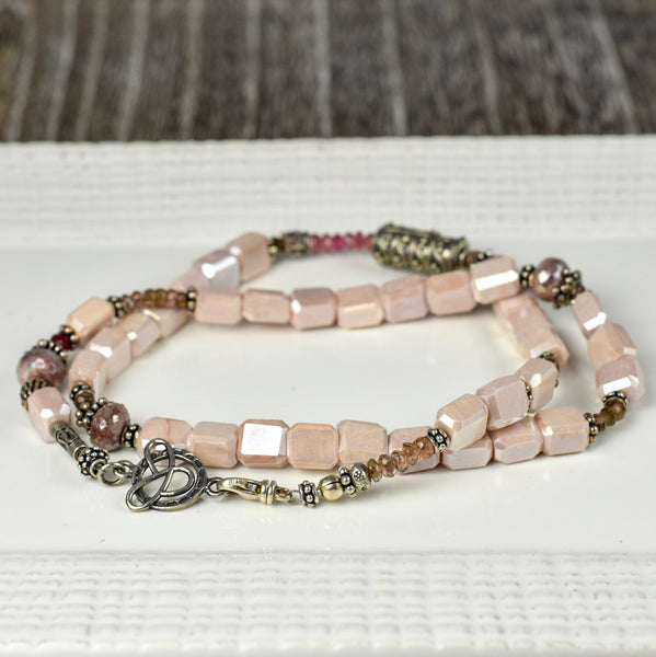 Blush Artisan Necklace