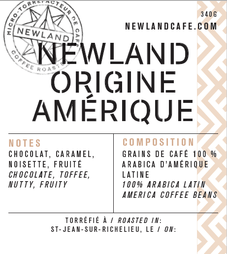 NEWLAND ORIGINE - AMÉRIQUE LATINE (Grains/Beans)