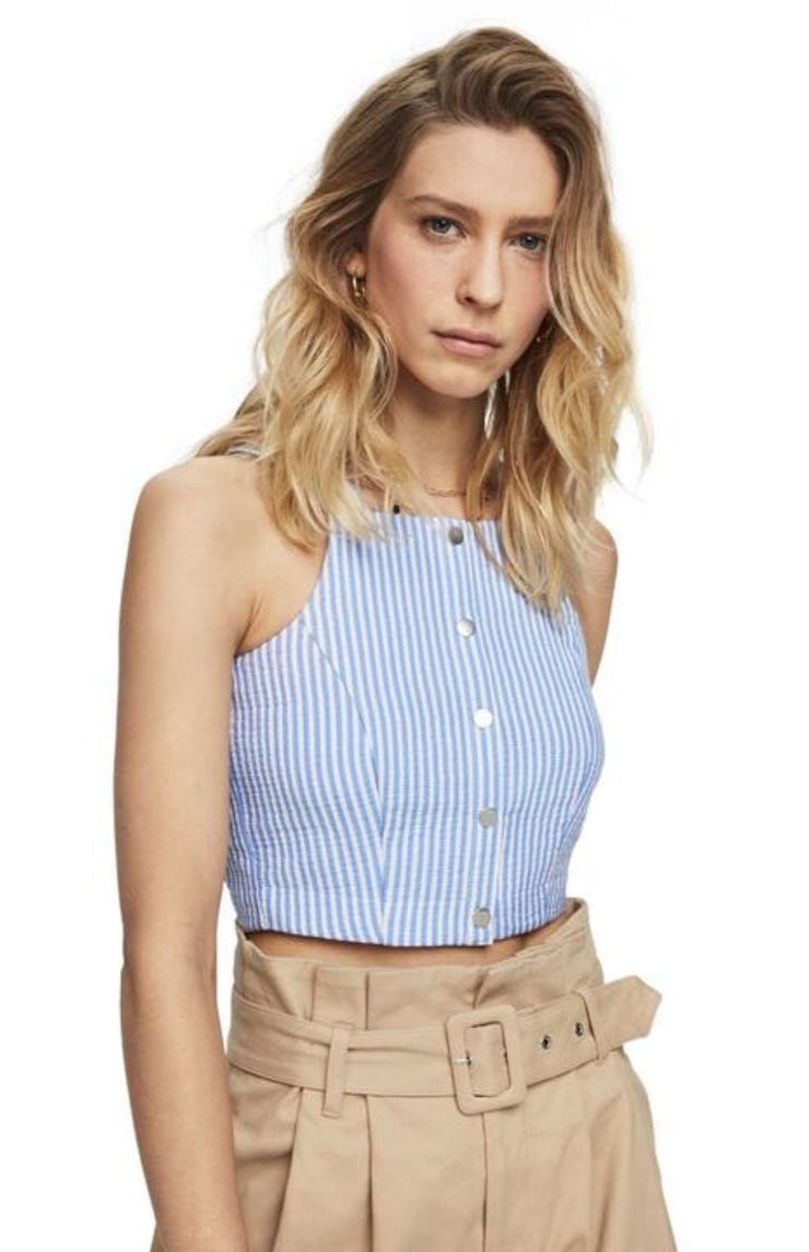 Scotch & Soda | Striped Crop Top