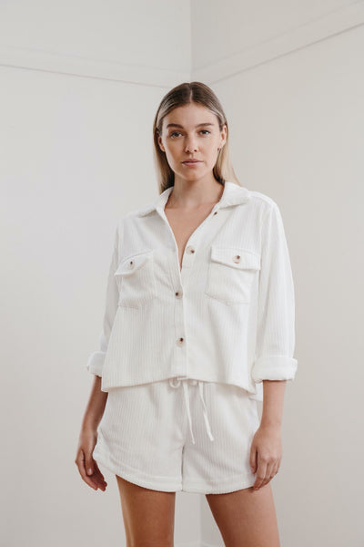 Little Lies | Cord Button Shirt