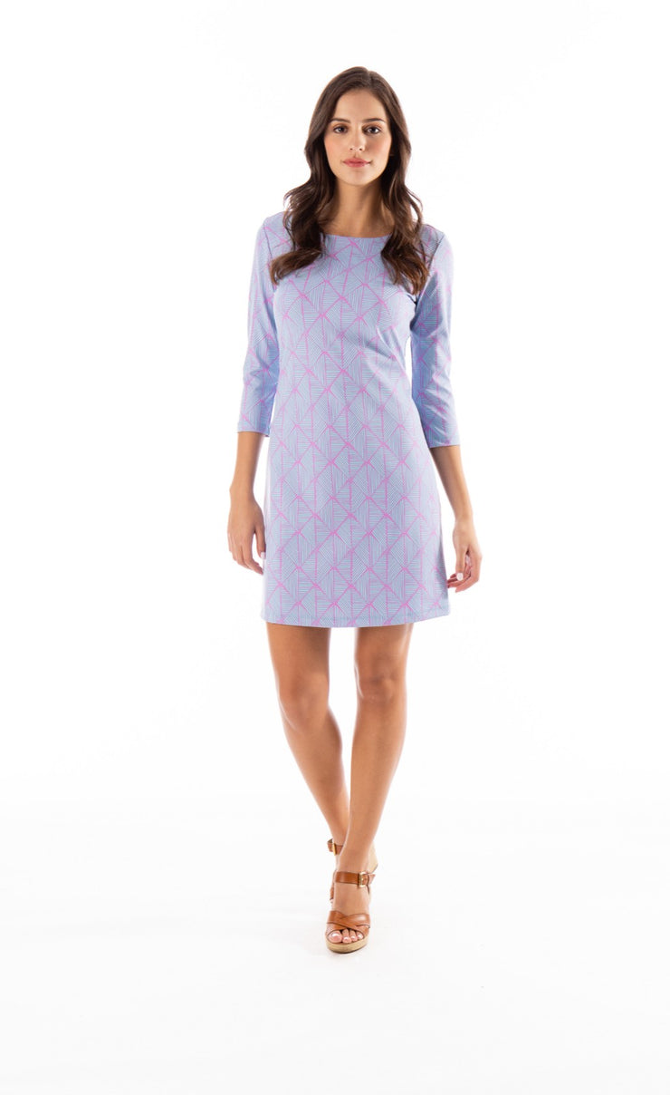 Mahi Gold | Bimini Dress - Diamond in the Rough Lilac