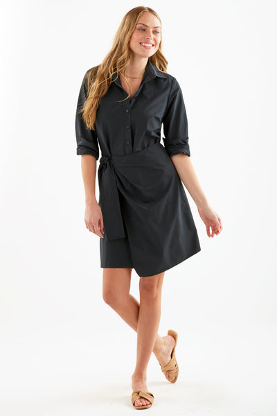 Finley | Annie Poplin Wrap Dress