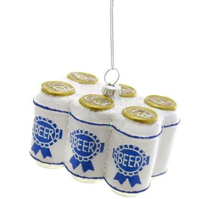 Cody Foster | Six Pack of Beer Ornament
