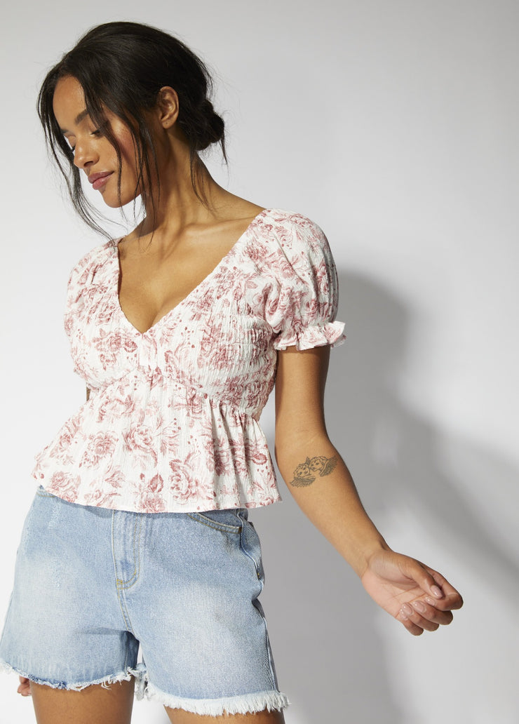 MinkPink | Love Story Top