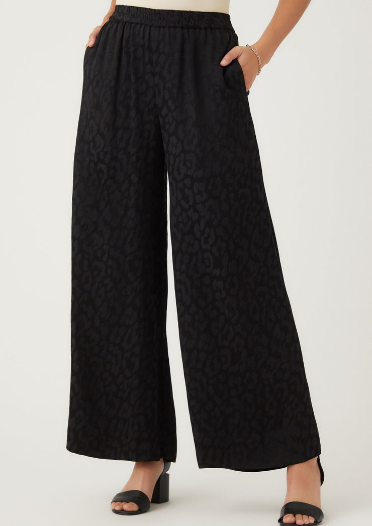 Fifteen Twenty | Leopard Wide Leg Pants