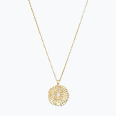 Gorjana | Sunburst Coin Necklace