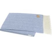 Lands Downunder Throw | Chambray
