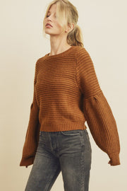 Hazel Sweater | Redwood