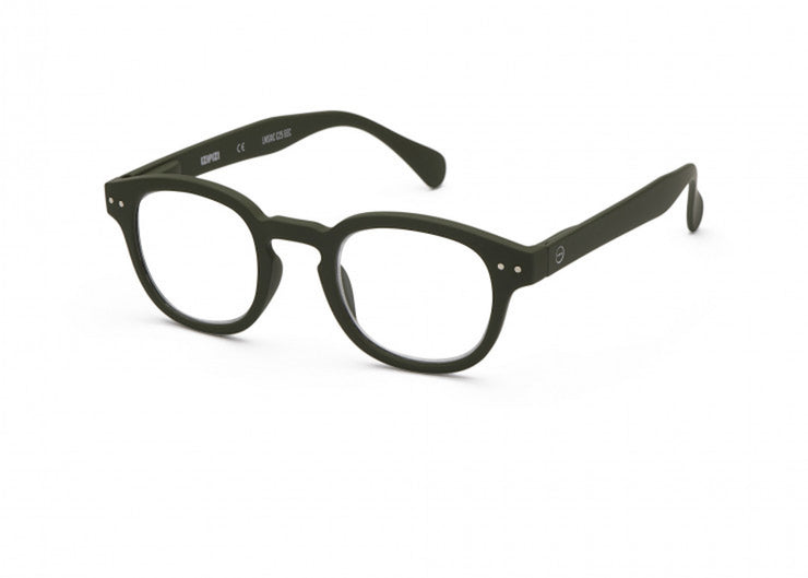 Izipizi | The Retro Readers #C | Khaki Green