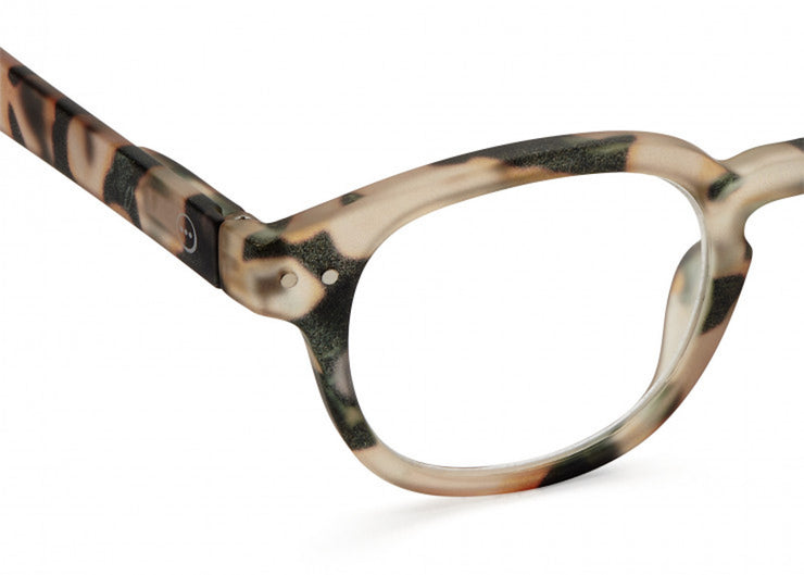 Izipizi | The Retro Readers #C | Light Tortoise