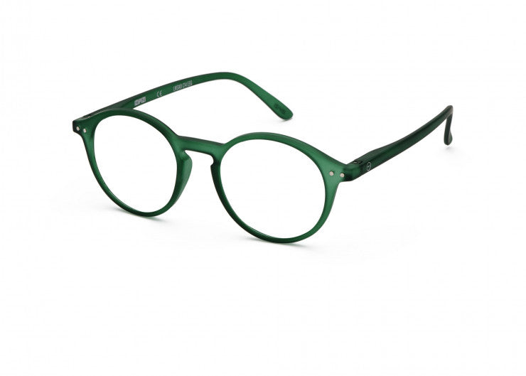 Izipizi | The Iconic Readers #D | Green Crystal