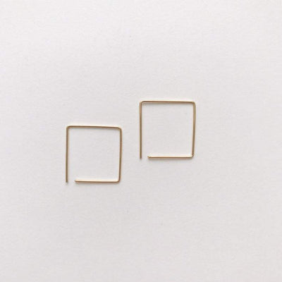 Peg's Hardware | Box Pin Earring