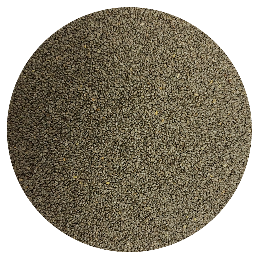 Ultra-Pure Premium Organic Black Chia Seeds 1 Pound Bag