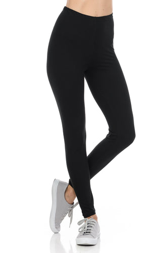 bluensquare LEGGINGS  for Juniors High Waist premium soft brushed 4 way Stretched Regular One Size