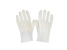 bluensquare White 100% Cotton Gloves for Women, 1 Pair Cotton Gloves for Dry Hands, Driving, Events, Various Uses