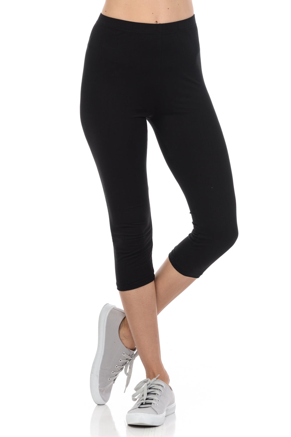 262eacec07 Womens Capri leggings Soft and Streched Cropped leggings for Women by  bluensquare- Regular ONE Size