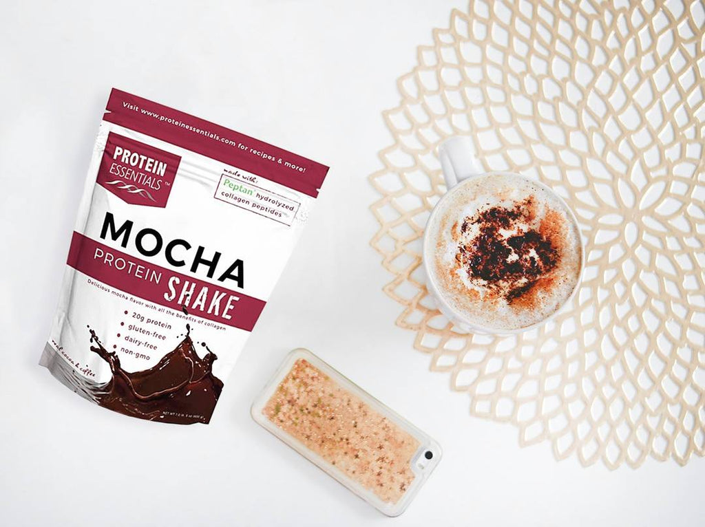 Protein Essentials Mocha Collagen