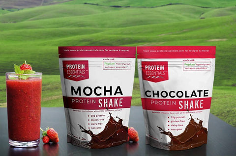 Mocha and Chocolate Collagen Protein Powder