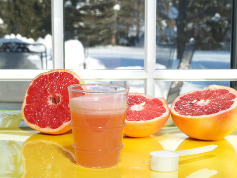 Grapefruit Juice and PE Collagen