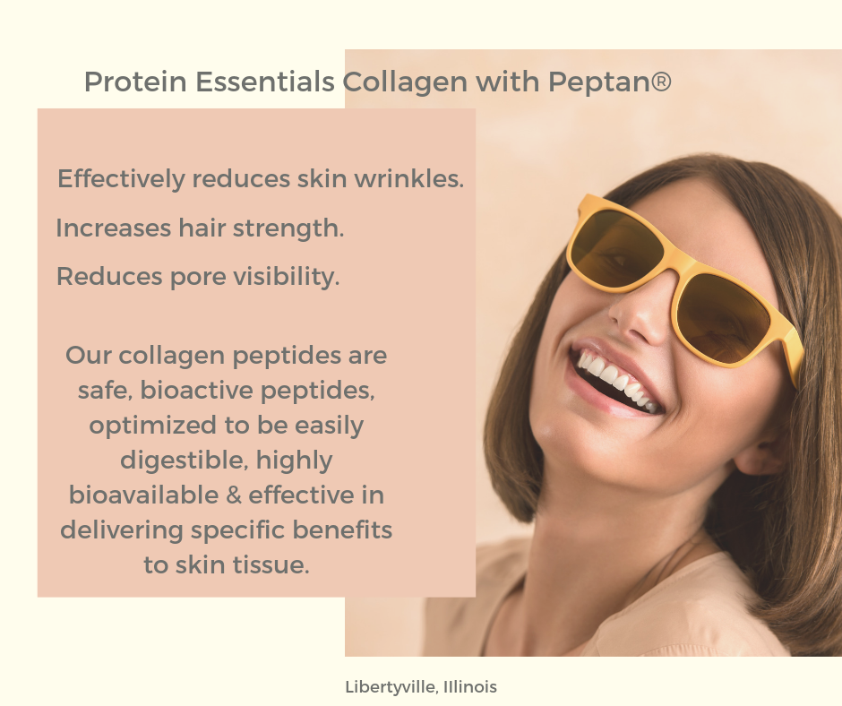 Protein Essentials With Peptan Delivers Beauty From Within.