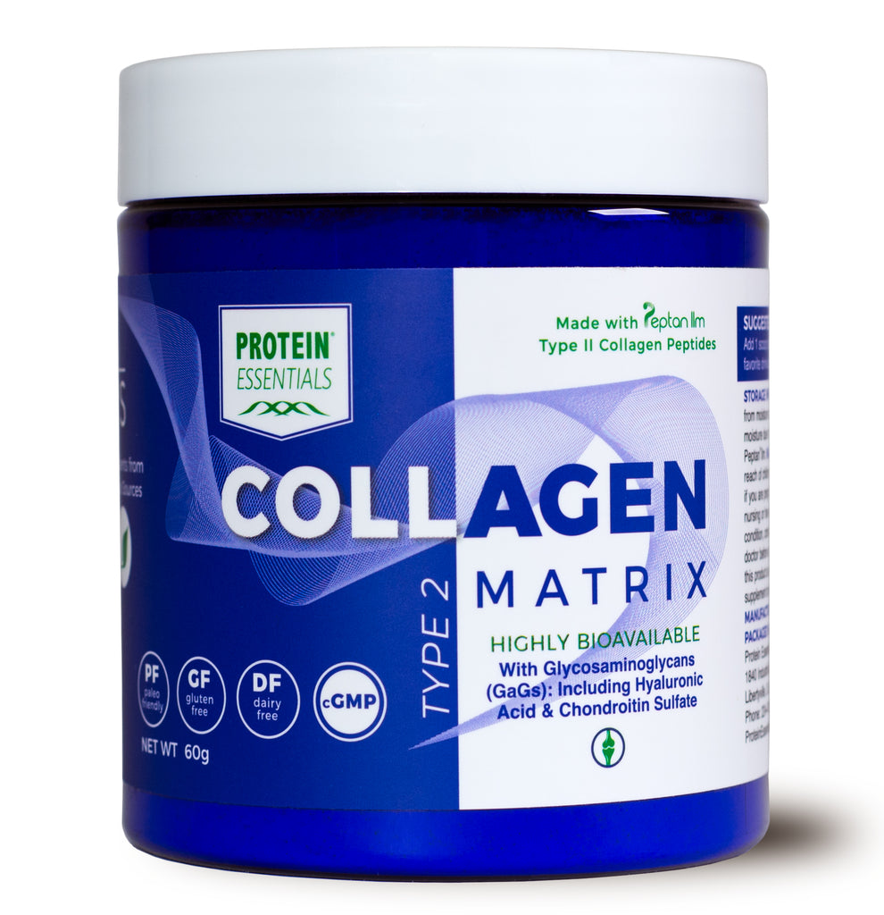 Collagen Type IIm Matrix with Vitamin C (60 Gram)