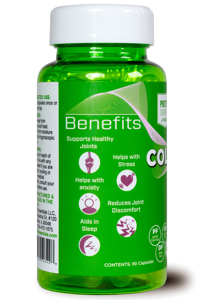 Collagen Type II Protein with CBD Isolate 900 mg (Capsules)