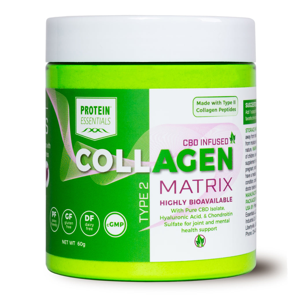 CBD Infused Collagen Peptides Supplement with 1800mg CBD